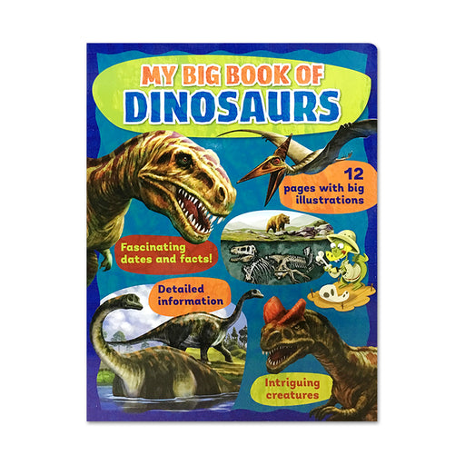 N-My Big Board Book of Dinosaurs