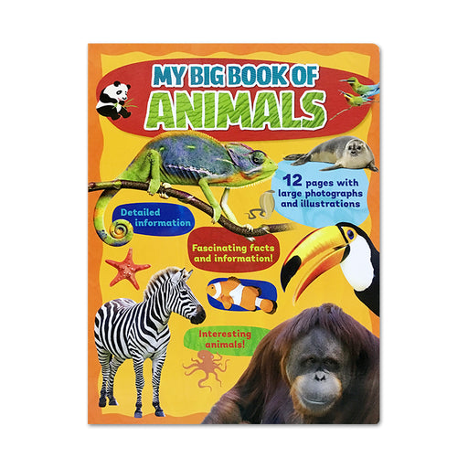 N-My Big Board Book of Animals