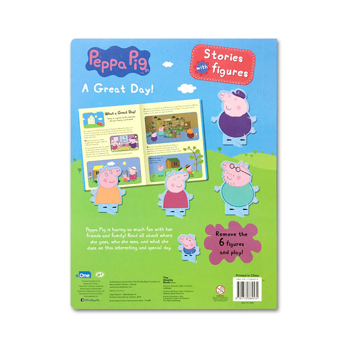 N-Peppa Pig Stories with Figures