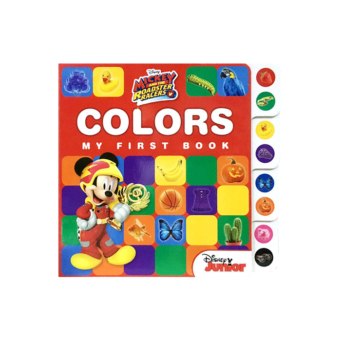 N-Mickey RR Early Learning Colors Tab