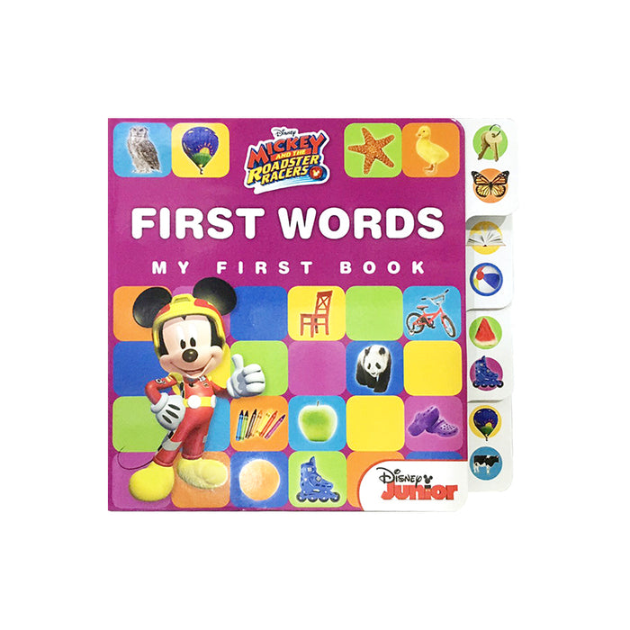 N-Mickey RR Early Learning First Words Tab
