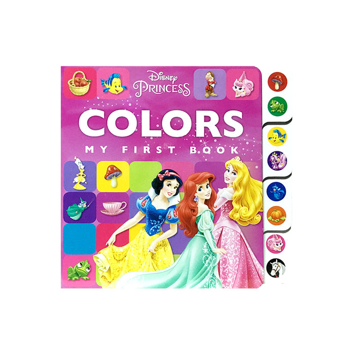 N-Disney Princess Early Learning Colors Tab