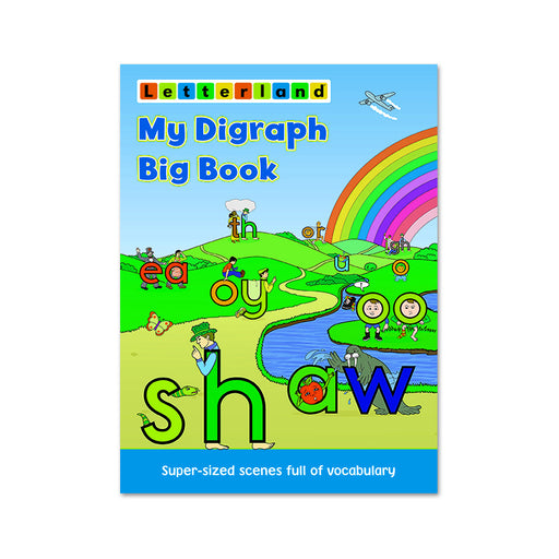 Letterland : My Diagraph Big Book