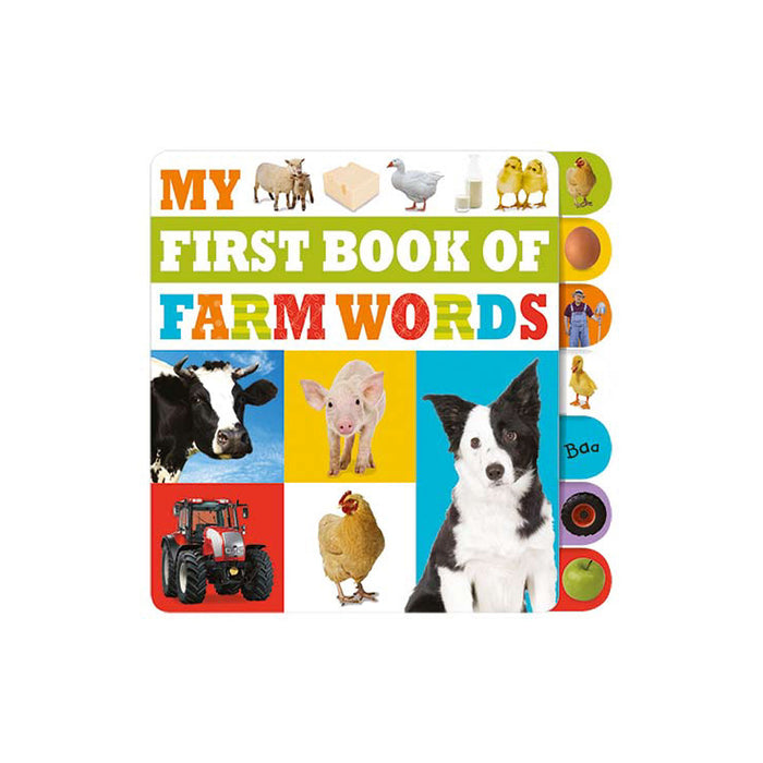 X-My First Book of Farm Words