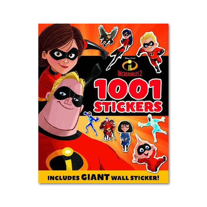I-Disney Incredibles 2 1001 Stickers