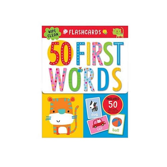 Flashcards 50 First Words
