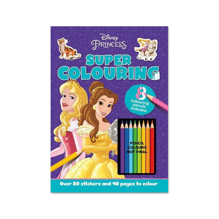 I-Disney Princess Super Colouring