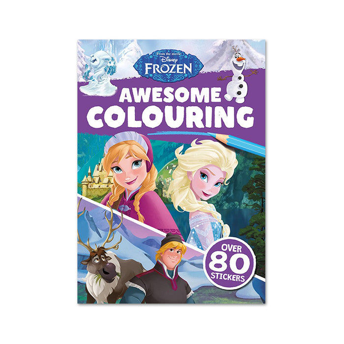 I-Disney Frozen Awesome Colouring