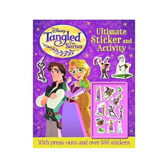 I-Disney Tangled Ultimate Sticker&Activity
