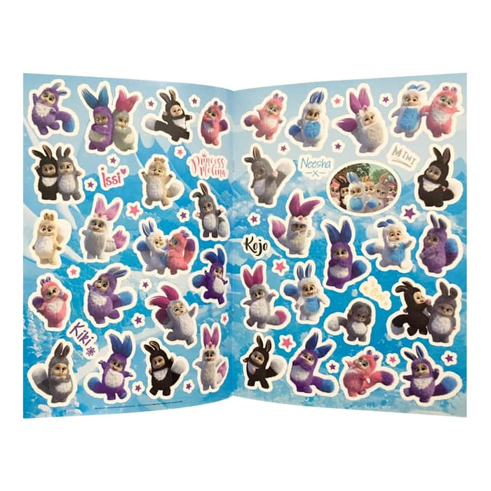 Bush Baby World Sticker Book