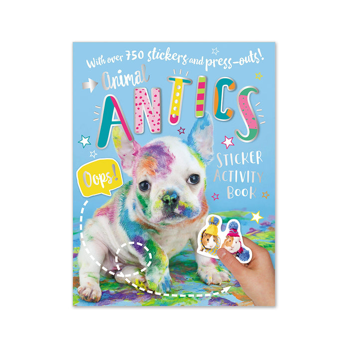 Animal Antics Sticker Activity