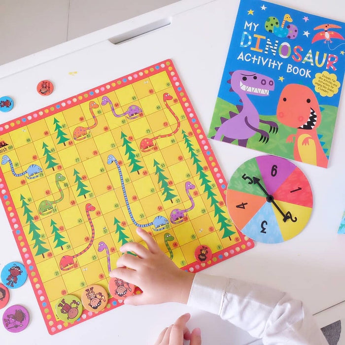 Dino Snakes & Ladders Box
