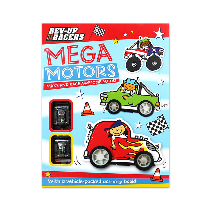 Mega Motors Rev-Up Racers Box