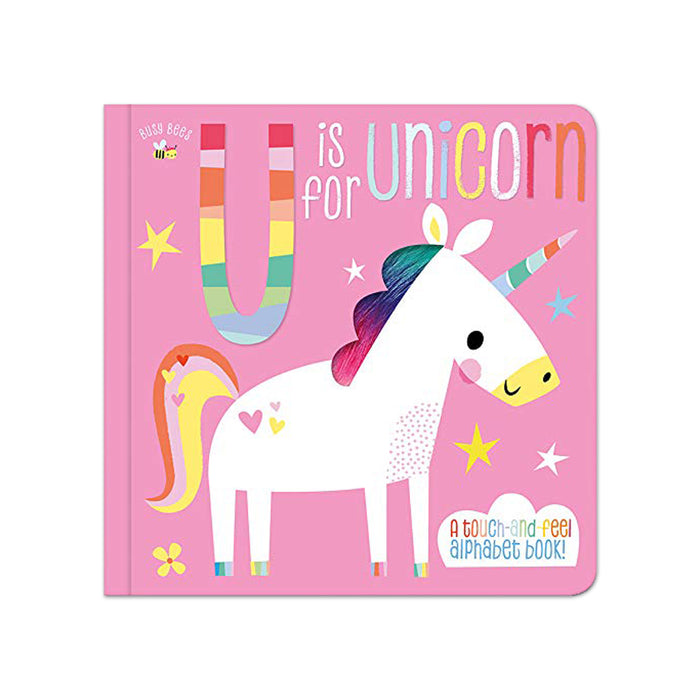 Busy Bees U is for Unicorn