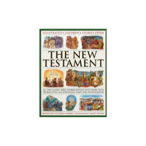 Illustrated Childrens Stories from the New Testament