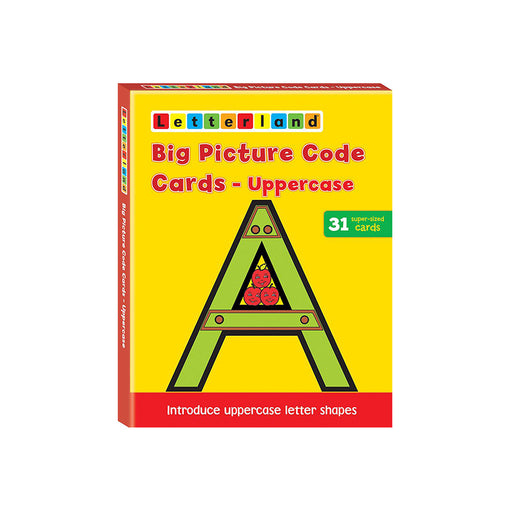 Letterland : Big Pict Code Cards-Uppercase