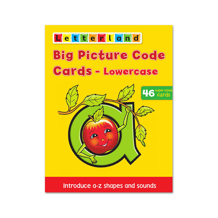 Letterland : Big Picture Code Cards Lowercase