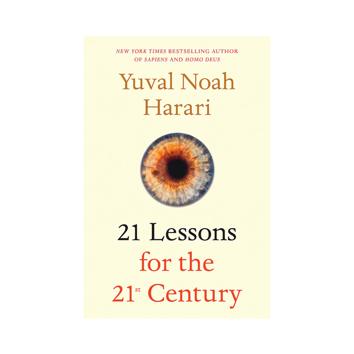 Yuval Noah :21 Lessons for the 21 Century (US)
