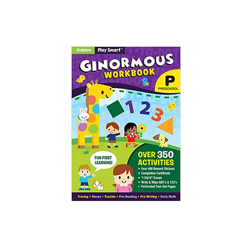 PlaySmart Ginormous Workbook