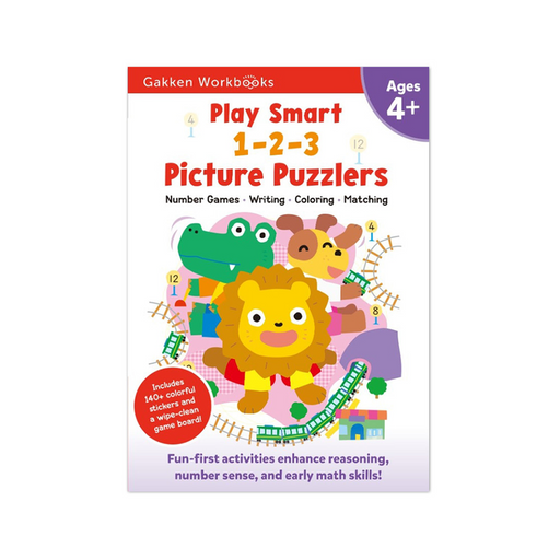 Play Smart 1-2-3 Picture Puzzlers 4