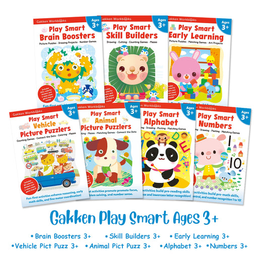 Gakken Play Smart Ages 3+ Bundle Set