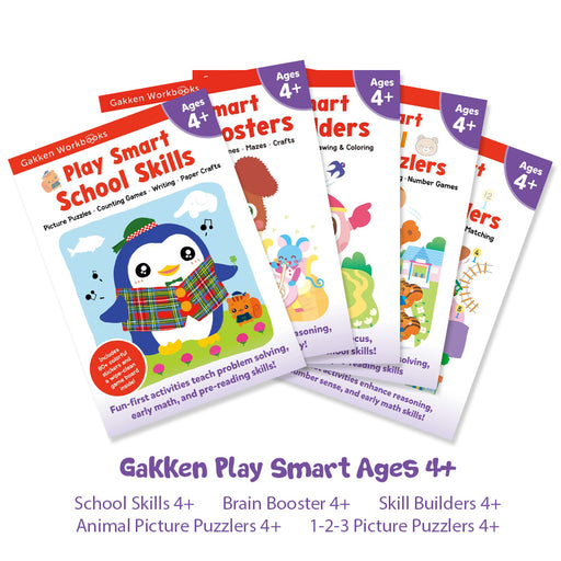 Gakken Play Smart Ages 4+ Bundle Set