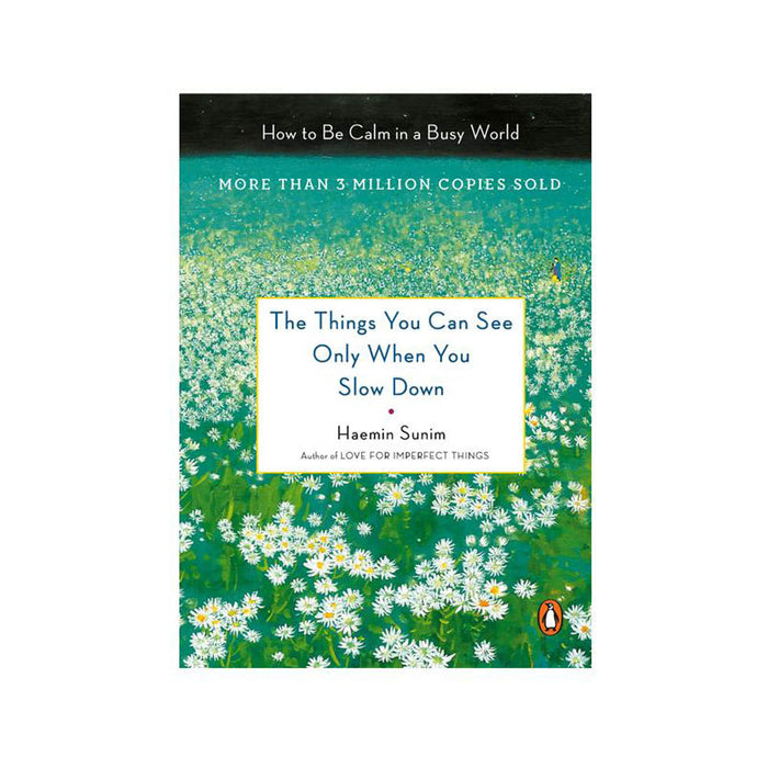 Haemin Sunim : Things You Can See Only When You Slow Down