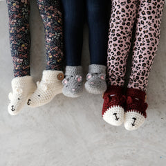 baby and child animal booties