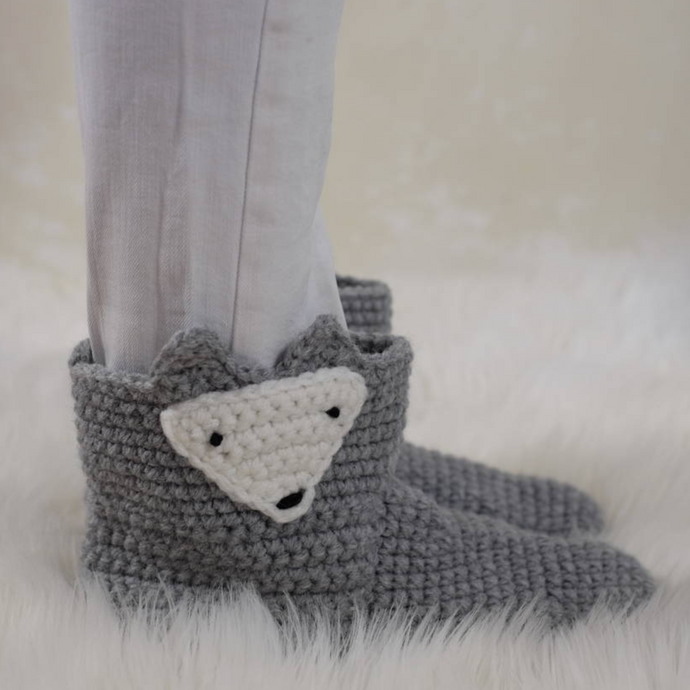 Teen + Adult Animal Slipper Socks-EKA