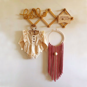 Burnt Umber Dreamcatcher Nursery Hanging-Wall Hangings-EKA