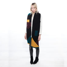 Load image into Gallery viewer, Pixelated Colour Block Scarf-Scarves-EKA