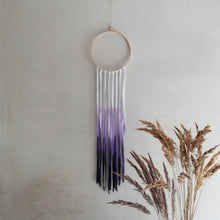 Load image into Gallery viewer, Dreamcatcher Talisman - Purple Ombre-Wall Hangings-EKA