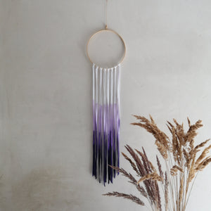 Dreamcatcher Talisman - Purple Ombre-Wall Hangings-EKA