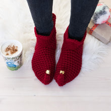Load image into Gallery viewer, Elf Slipper Socks -Adult-Slipper Socks-EKA