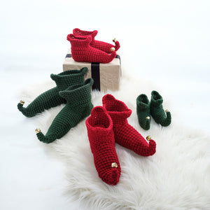 Elf Slipper Socks -Adult-Slipper Socks-EKA