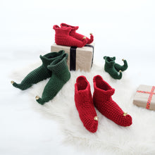 Load image into Gallery viewer, Elf Booties - Baby and Child-Baby Booties-EKA
