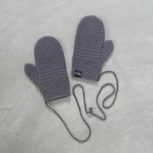 Load image into Gallery viewer, Mittens On A String - Organic Cotton