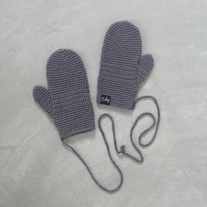 Mittens On A String - Organic Cotton