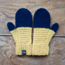 Load image into Gallery viewer, Dip Dye Ombre Mittens-Mittens-EKA