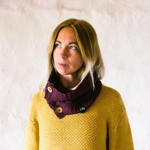Organic Cotton Cowl Scarf