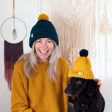 Load image into Gallery viewer, Mummy And Me Bobble Hat Set-Hats-EKA