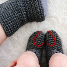 Load image into Gallery viewer, handmade baby booties