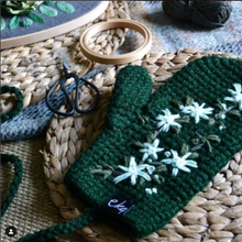 Load image into Gallery viewer, EKA X Ovobloom Colab Mittens-Mittens-EKA