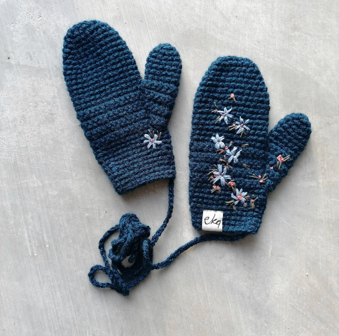 EKA X Ovobloom Colab Mitten and Scarf Set-Gift Sets-EKA