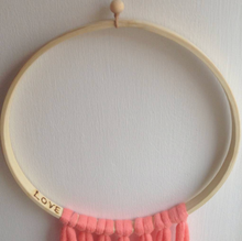 Load image into Gallery viewer, Dreamcatcher Talisman - Salmon Ombre