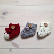 Load image into Gallery viewer, Animal Booties - Baby And Child-Baby Booties-EKA