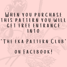Load image into Gallery viewer, Pattern For EKA Mittens On A String-Patterns-EKA