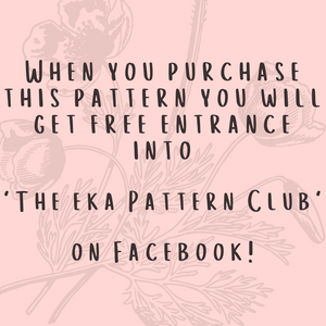 Pattern For EKA Mittens On A String-Patterns-EKA
