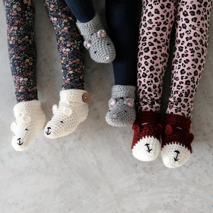 Animal Booties - Baby And Child-Baby Booties-EKA