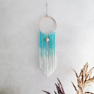 Dreamcatcher Talisman - Blue Ombre-Wall Hangings-EKA